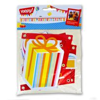 Yoopy - Bannière Ballons : Joyeux Anniversaire