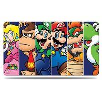 Ultra Pro - Produits DÉRIVÉS - Tapis De Jeu - Super Mario - Mario Et Ses Amis AccompagnÉS D'UN Tube De Protection