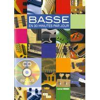 Play Music Publishing - Méthodes Et Pédagogie Monnier L La Basse En 30 Minutes Par Jour + Cd - Basse Guitare Basse