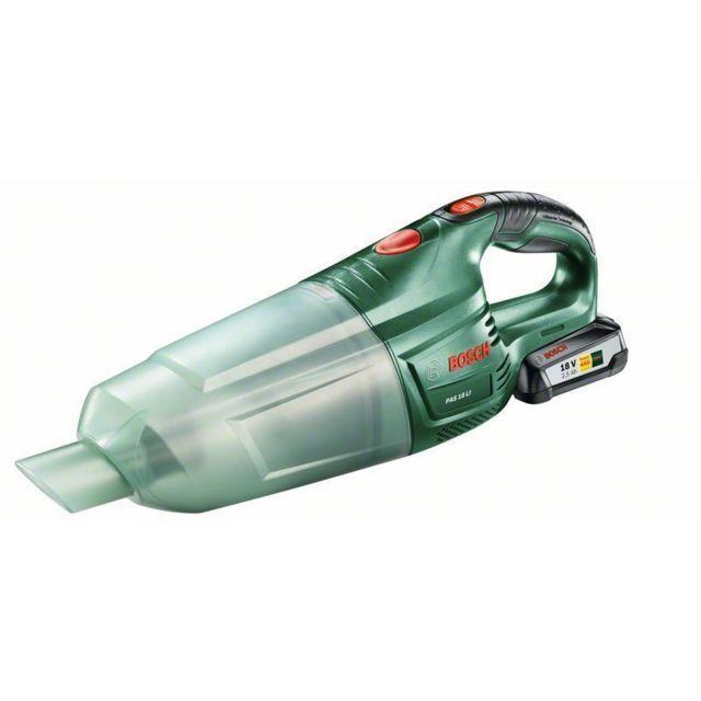 Bosch Aspirateur à main sans fil Pas 18 Li