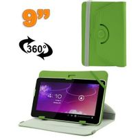Yonis - Housse universelle tablette 9 pouces protection support 360° Vert