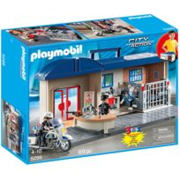 PLAYMOBIL - Commissariat de police transportable - 5299