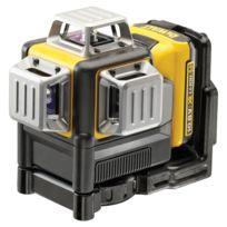 Dewalt - Laser 3X360° - Faisceau vert - 10.8V 2.0Ah - Batterie et chargeur - DCE089D1G