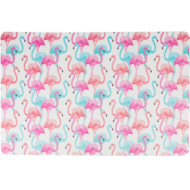 Sudtrading Set de table Rectangulaire Flamants Roses