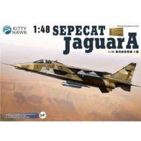 Kitty Hawk - Maquette avion : Sepecat Jaguar A-ec 1/7 Provence, base de St Dizier 1994