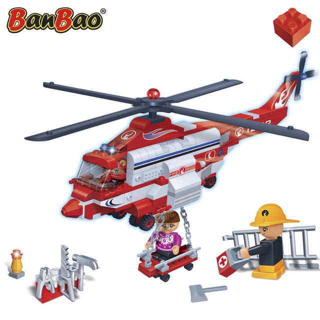 Banbao Hélicoptère de sauvetage 8315