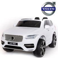 4x4 voiture quad électrique enfant Xc90 en 2 places 12V Blanc peinte
