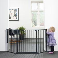 BABY DAN - Barriere Pare-Feu Flex M Noir