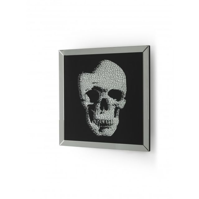 Ma Maison Mes Tendances Miroir carré en verre et bois Jack - L 100 x l 100
