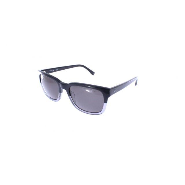 62f7775a7912e5 Lacoste - L814S 035 - Lunettes de soleil homme Noir - pas cher Achat   Vente  Lunettes Aviateur - RueDuCommerce
