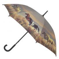 Blooming Brollies - Parapluie Motif Chevaux - Manuel