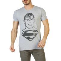 Buzzao - T-shirt homme gris Dc Comics
