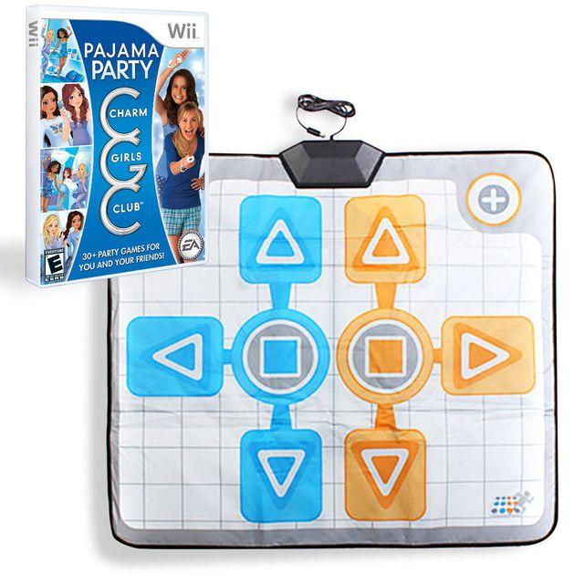 Hobbytech - Pack Charm girl club : Pyjama party + tapis de danse Duo - Wii - pas cher Achat ...