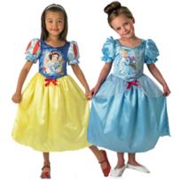 Rubies - Déguisement Réversible Cendrillon Blanche Neige Princesse Disney - Taille : 3/5 ans 94 à 108 cm