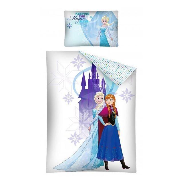parure couette reine des neiges housse couette reine des neiges fantastiqu housse de couette. Black Bedroom Furniture Sets. Home Design Ideas