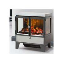 cheminee electrique effet feu bois achat cheminee electrique effet feu bois pas cher soldes. Black Bedroom Furniture Sets. Home Design Ideas