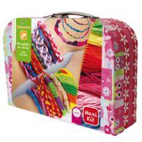 Au Sycomore - Valisette Maxi kit : Bracelets en folie
