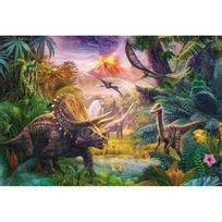 Schmidt - Puzzle 100 pièces : La vallée des dinosaures