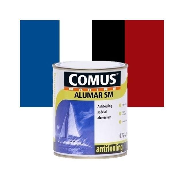 comus peinture antifouling sp cial aluminium alumar sm rouge vif 336 0 75 l pas cher achat. Black Bedroom Furniture Sets. Home Design Ideas