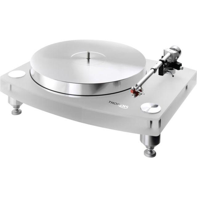 Thorens - Platines vinyle hi-fi Td2035 Acrylique blanc avec bras Tp92