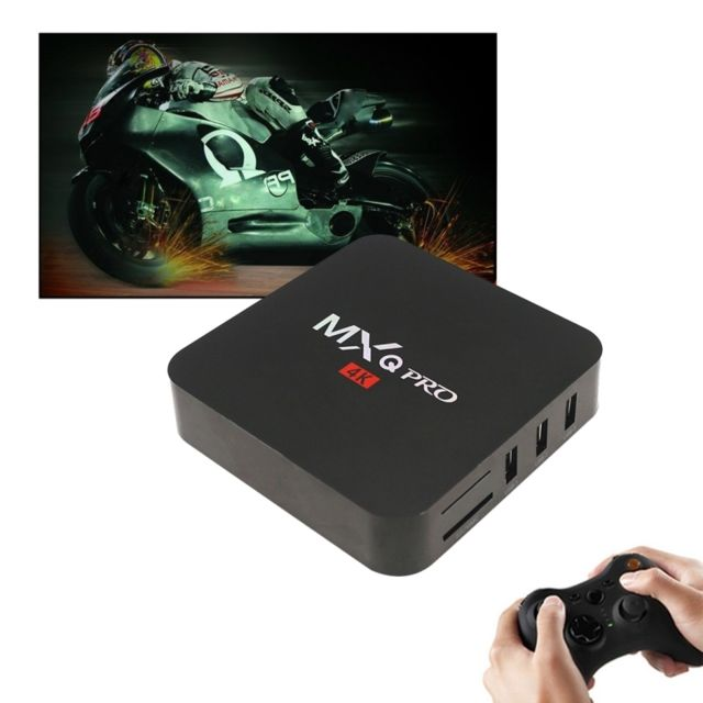 achat wewoo box tv android 1080p 4k hd smart avec t l commande 7 1 s905w quad core cortex a53. Black Bedroom Furniture Sets. Home Design Ideas