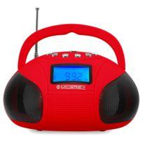 Mcgrey - Boombox Mc-50B Bluetooth Haut-Parleur avec Slots Usb / Sd et Radio Fm