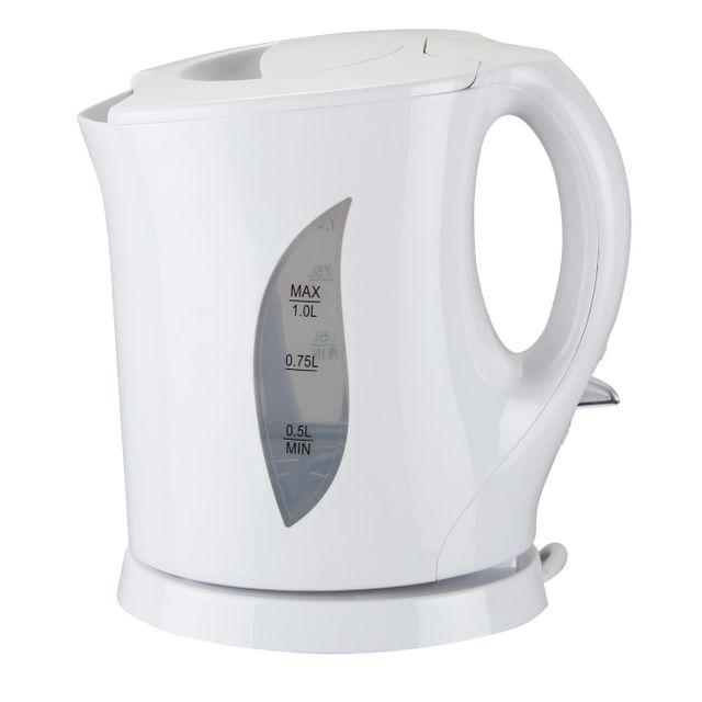 EVATRONIC bouilloire 1l 1400w blanc - 000110