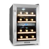 KLARSTEIN - Cave à vin réfrigérée 34L 12 bouteilles éclairage LED classe B
