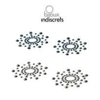 Bijoux Indiscrets - Cache Seins Mimi Metalic Argent