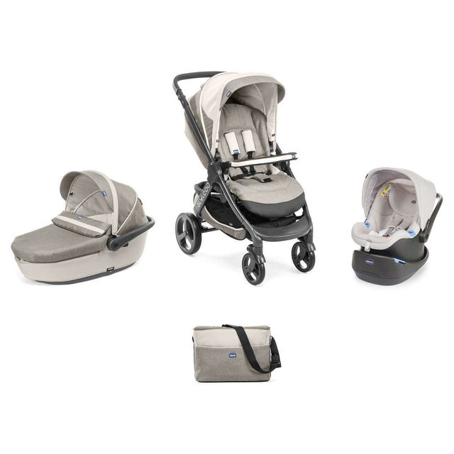 Chicco - Poussette Trio StyleGO - Truffles - pas cher Achat   Vente ... f94a6bf54a6