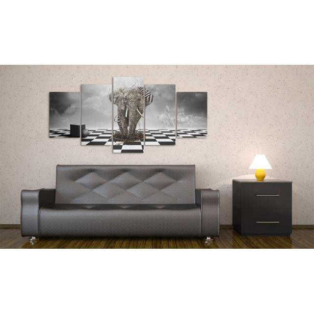 200x100 Tableau Abstraction Joli Déserteur