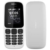 "NOKIA - Téléphone 1,8"" QQVGA - 4 Mo - 2G - Double MiniSIM"