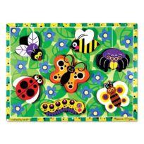 Melissa & Doug - 13729 - Puzzle À Grosses PiÈCES En Bois - Insectes