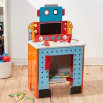 TEAMSON KIDS - Établi de robot pliable Little Engineer