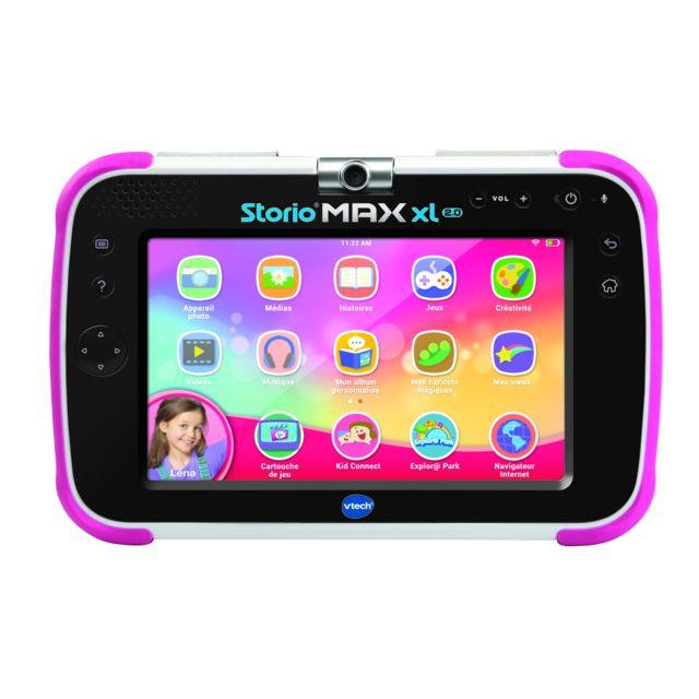 Vtech Tablette Storio Max Xl 2.0 rose