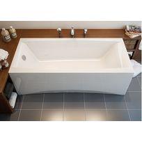 Cersanit - Pack baignoire Virgo 180x80 avec tablier Facade