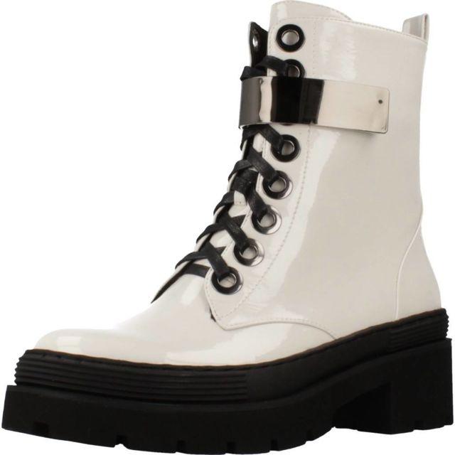 Noa Harmon Boots, bottines et bottes femme 8089N, Blanc