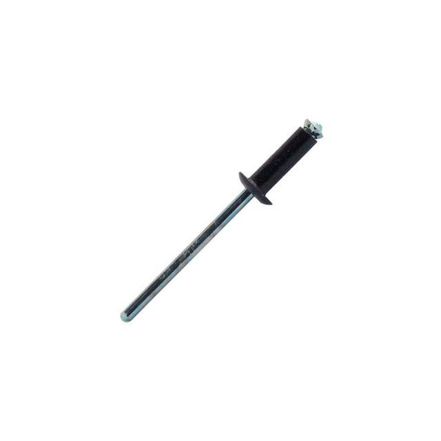 250 pc 9,5-11,5 mm Fixman 389614 Rivets aveugles avec t/ête bomb/ée ouverte 4,8 x 16 mm