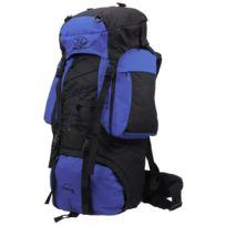 Highlander - Sac à dos randonnée Rambler 88 cobalt black Bleu 41419