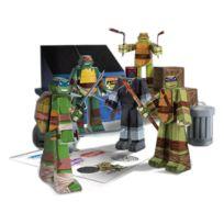 Jazwares - Les Tortues ninja - Set Papercraft Team Ninja Turtles Pack