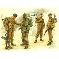 Master Box - Figurines 2ème Guerre Mondiale : Troupes britanniques : Bataille de Caen 1944