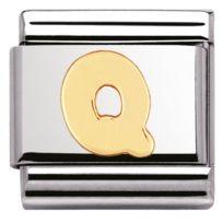 Nomination - Promo Charm Lettres 030101-17 - Charm Lettre Q Mixte