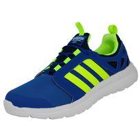 Adidas Neo - Cloudfoam Sprint Chaussures Mode Sneakers Homme Bleu Jaune
