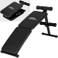 Banc De Musculation Pliable Pour Abdominaux Et Dorsaux Charge Max 100kg