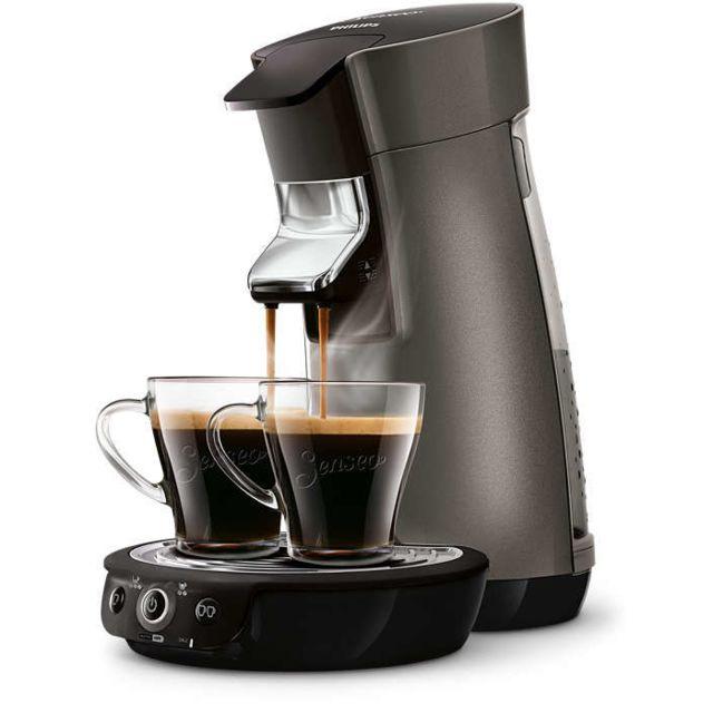 PHILIPS Machine à café à dosettes Senseo Viva Café Plus HD7831/51