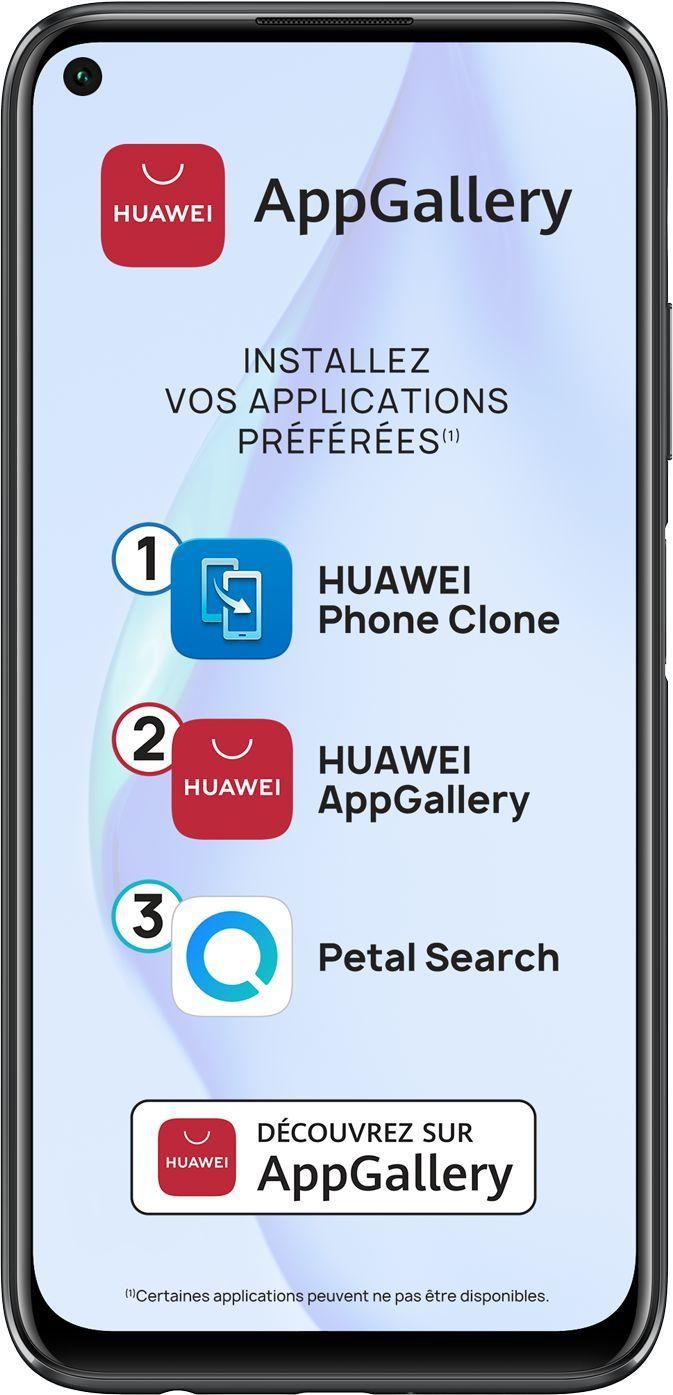 Smartphone P40 Lite 128 Go Huawei Noir