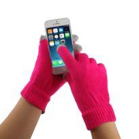 cb126721d602 Gants tactiles pour iPad Magenta iPhone, Galaxy, Huawei, Xiaomi, Htc, Sony