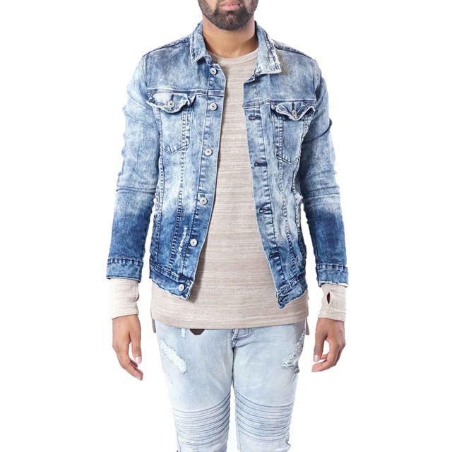 pretty nice best cheap on sale PROJECT X - Veste en jean homme Paris 9991, Taille: XXL ...
