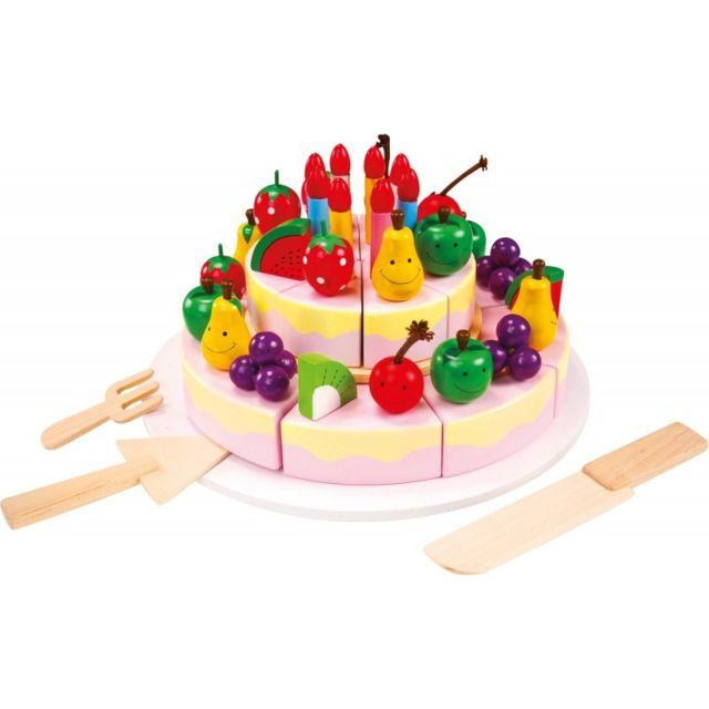 Small Foot Company Gâteau d'anniversaire à découper