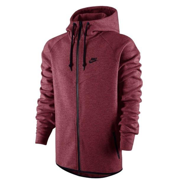 61c4e5ec2f686 Nike - Sweat Tech Fleece Windrunner - Ref. 545277-677 - pas cher ...